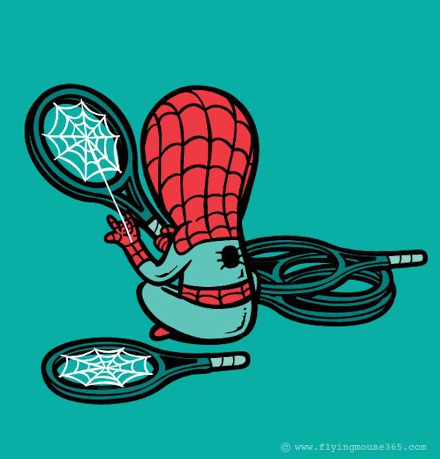 Spiderman-If Superheroes Had Part Time Jobs