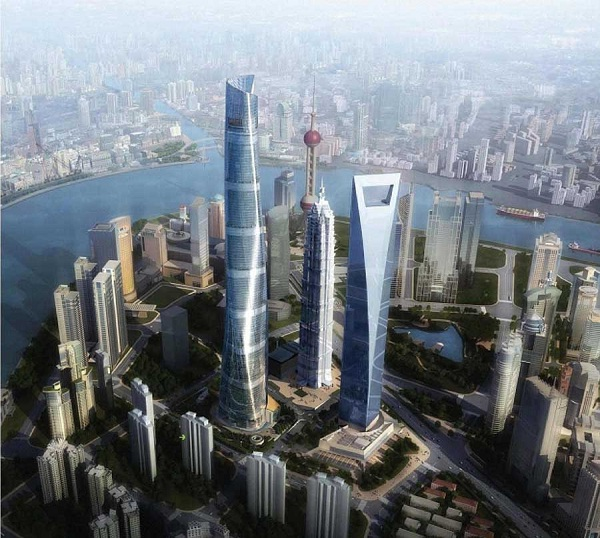 Shanghai Tower-Tallest Buildings In The World