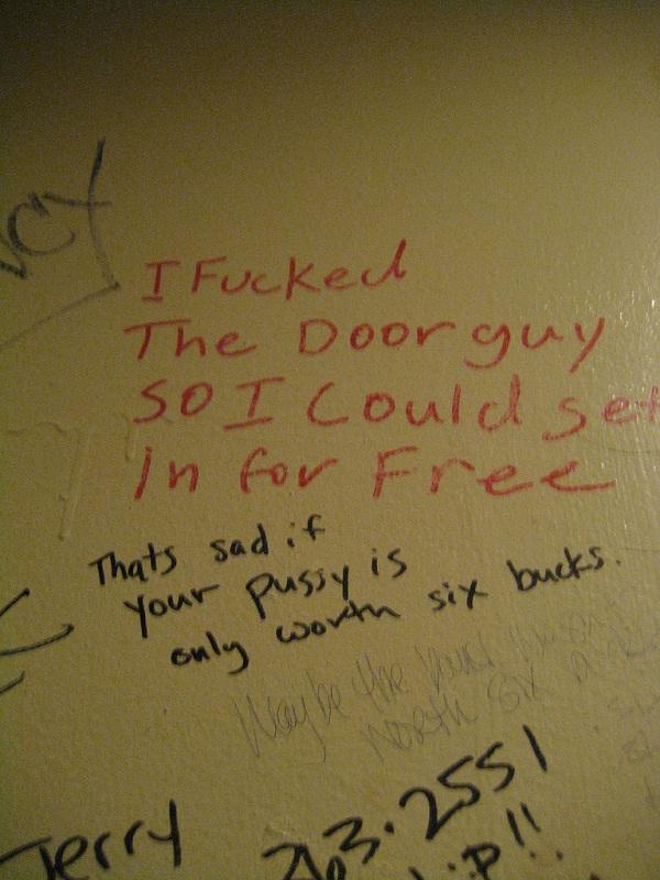 Bitchy-Funniest Toilet Graffiti