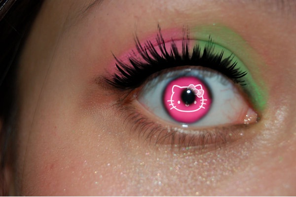 Look Me in The Eye Sucker-Crazy Products Inspired By Hello Kitty