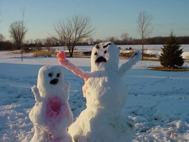 Have a heart-Craziest Snowmen Ever