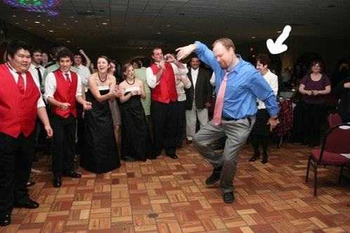 The wedding dancing-Embarrassing Dad Pictures