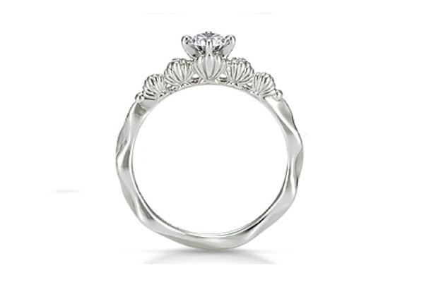 Ariel Seashell Ring-Disney Engagement Rings
