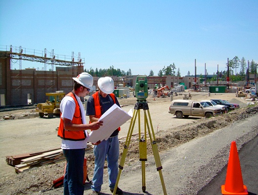 Surveyor-Good Paying Jobs That Don't Require A College Degree