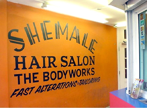 Shemale Hair Salon-Most Inappropriate Store Names