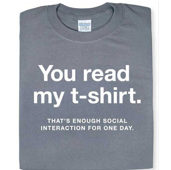 Some Things Are Best Left Unsaid!-Geekiest T-shirts