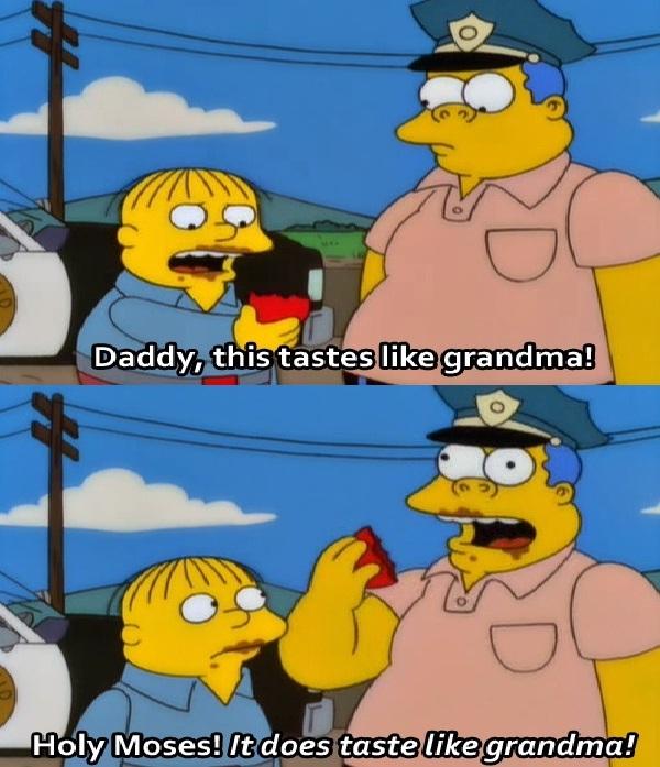 Grandma-Best Simpsons Quotes