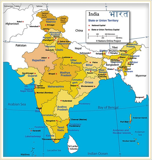 India-Countries With The Best Food