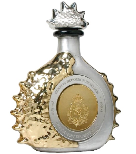 Henry IV Dudognon Heritage Cognac Grande Champagne - $2,000,000 per bottle-Most Expensive Alcoholic Drinks