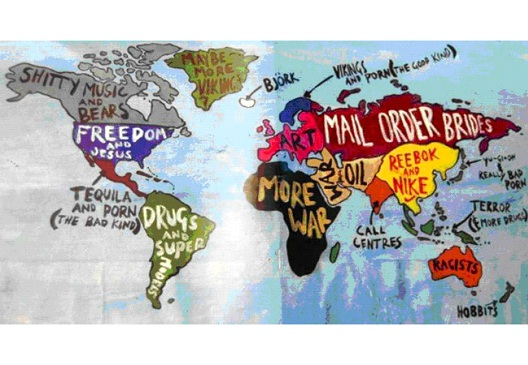 Alternate World Map 12 Funny Maps You Won T See In School