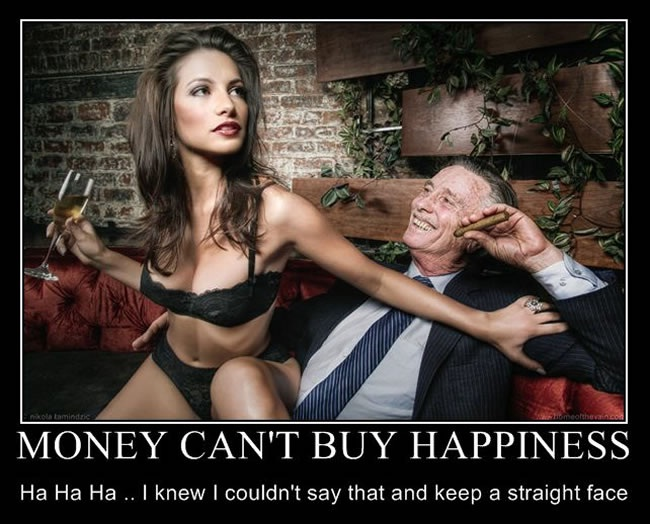 Yep It Really Does Help-Best 'Money Can Buy Happiness' Photos