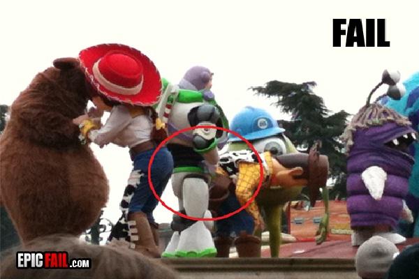 Buzz!!!-Disneyland Fails