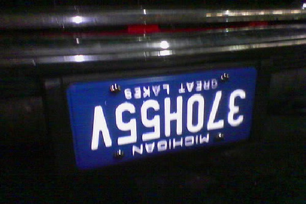 A Mystery-Hilarious License Plate Fails
