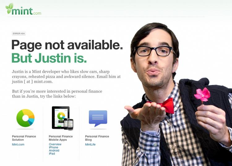 Get Justin-Funny Website Error Messages
