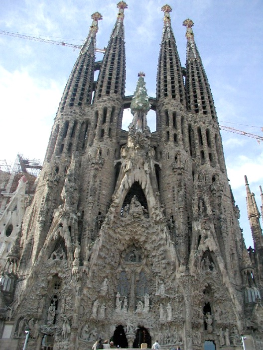Sagrada Familia - Barcelona-Most Beautiful Architectural Structures In The World