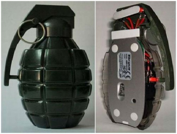 Grenade Mouse-Amazing Computer Mice