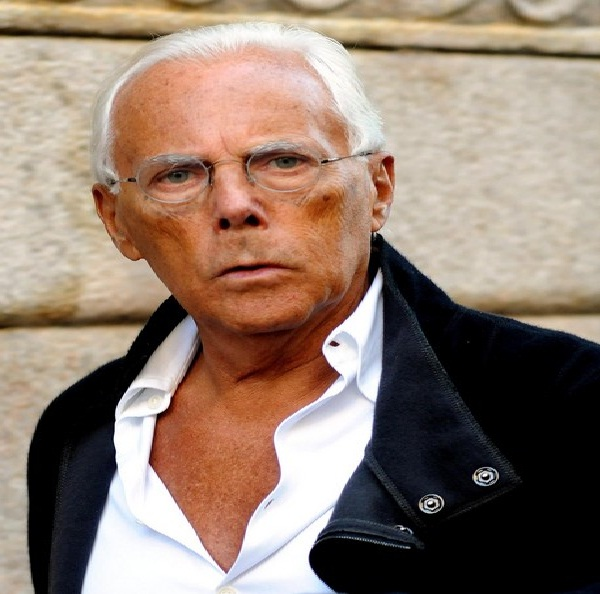 Giorgio Armani Best Fashion Designers In The World