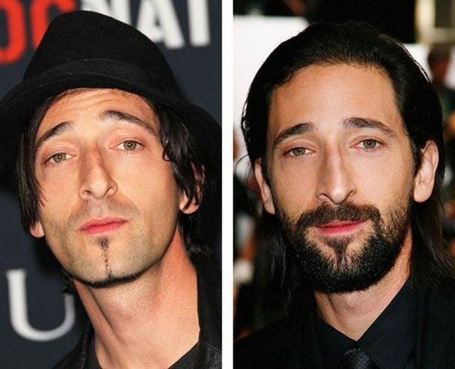 Adrian Brody-12 Images That Show A Beard Makes You Look