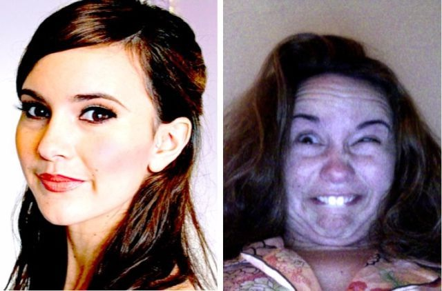 The scruncher-12 Photos That Show Pretty Girls Making Ugly Faces