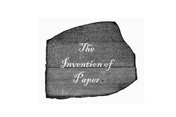 Invention of paper-Important Events In World History