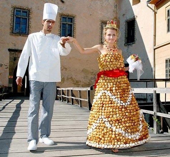 Edible?-Most Insane Dresses Ever