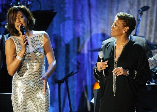 Whitney Houston & Dionne Warwick-12 Celebrity Cousins You Probably Didn't Know About