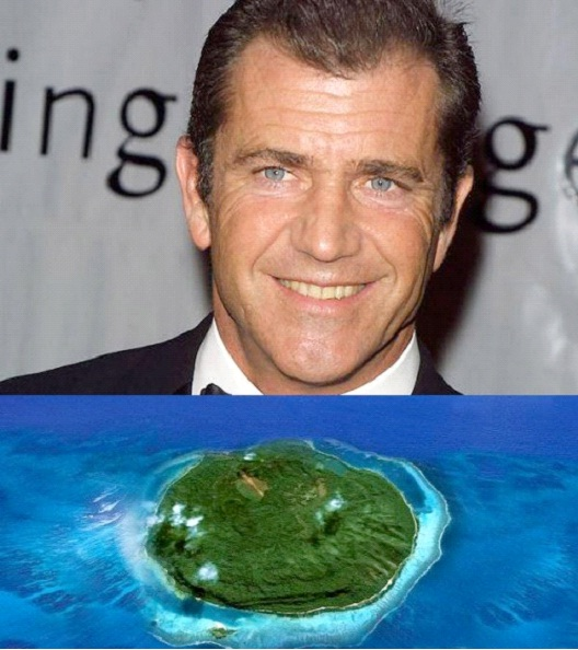Mel Gibson-Celebrities Who Own A Private Island