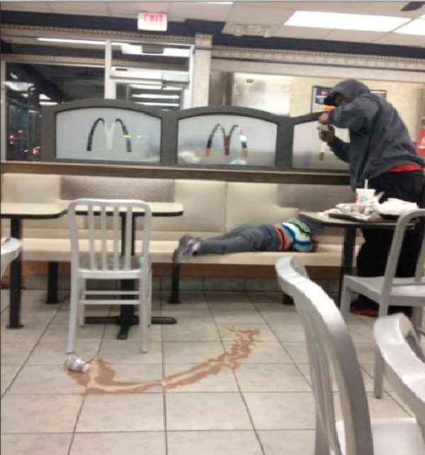 Baby Pictures-Strange People At McDonalds