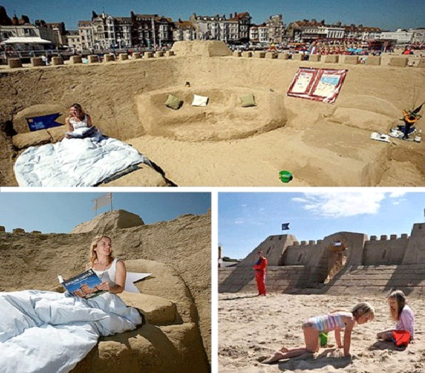 Sandcastle Hotel-Weirdest Hotels In The World