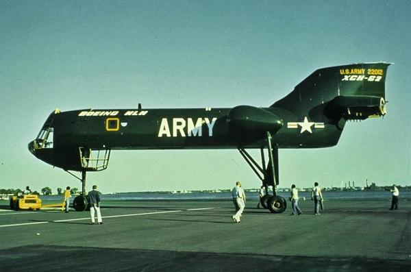 On stilts-Most Bizarre Designed Aircrafts