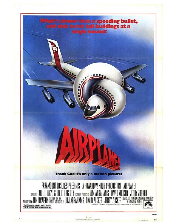 Airplane-Best Comedy Movies Of All Time