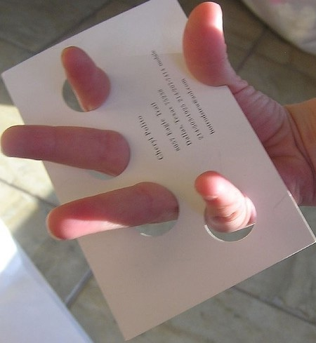 Tactile-Most Creative Business Cards
