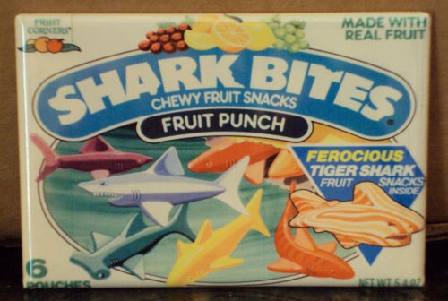 Shark Bites-Foods And Beverages Which Only 90s Kids Will Remember