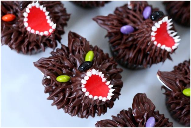 Werewolf Cupcakes-Halloween Cupcakes