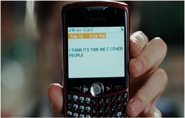 Break Up via Text-Worst Ways To Break Up