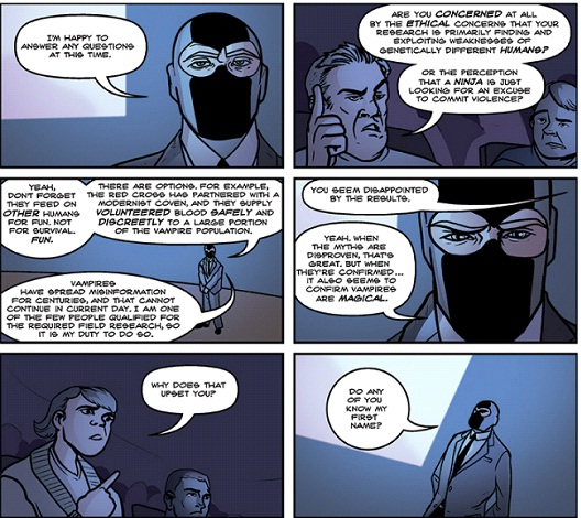 Dr. McNinja - Chris Hastings and Kent Archer-12 Funniest Webcomics On The Internet