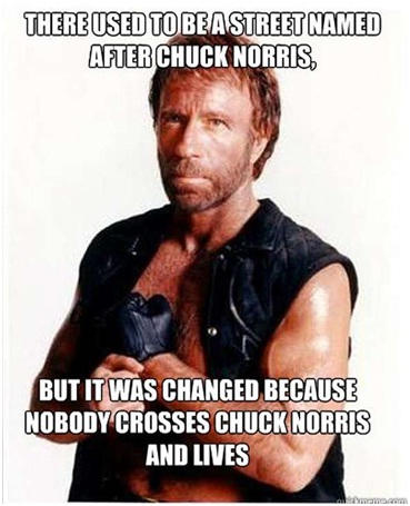 Don't Cross Chuck Norris-12 Hilarious Chuck Norris Memes Ever