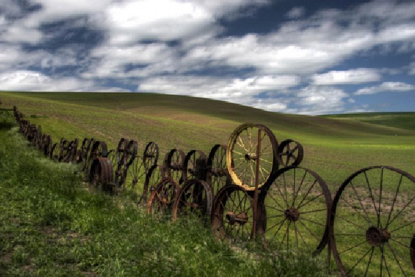 A wheely good fence-Most Creative Fences