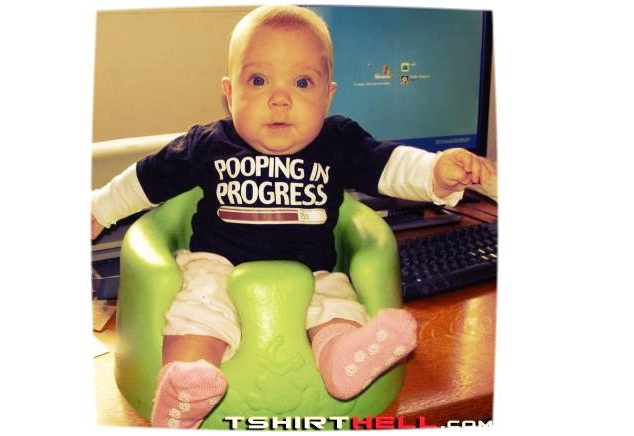 It's Not All A Bed of Roses-Funny Baby T-shirt Texts And Images