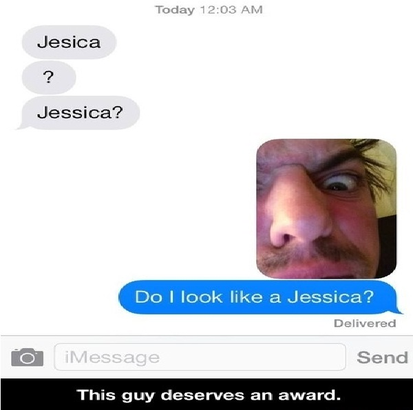 Picture reply-Funny Ways To Respond To A Wrong Number Text