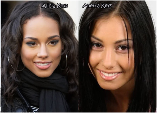 Alicia Keys Vs. Anetta Keys-Celebrities & Their Pornstar Lookalikes