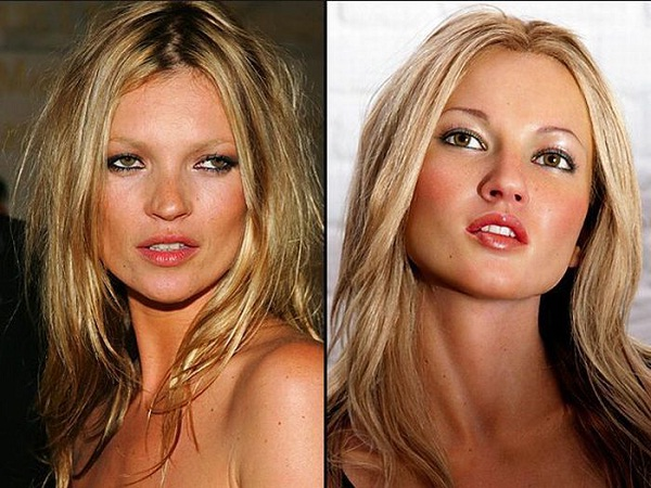 Kate Moss-Celebs With Their Wax Statues