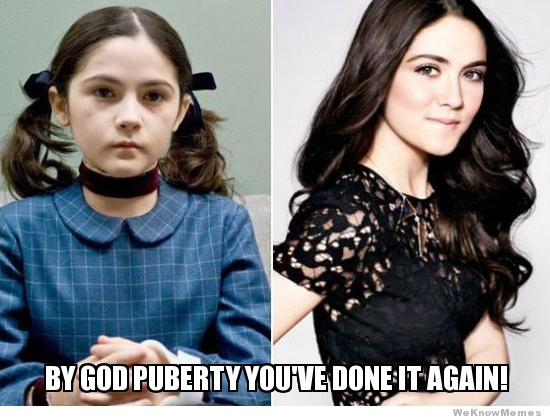 What a transformation-15 Images That Show Puberty Doing It Right