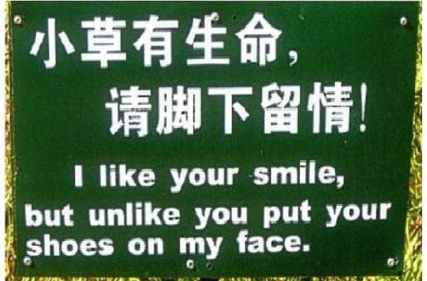 Huh?-Hilarious Chinese Translation Fails