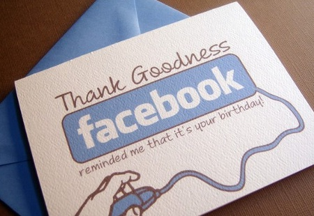 A card reminder-Amazing Products Inspired By Facebook