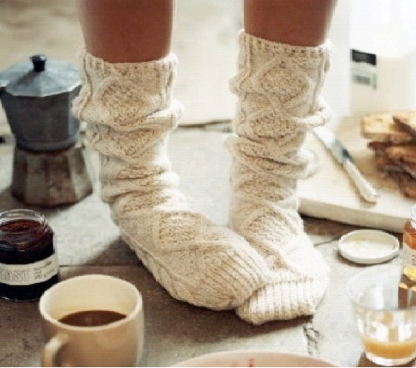 Wear Thick Socks-How To Stay Warm In Winter