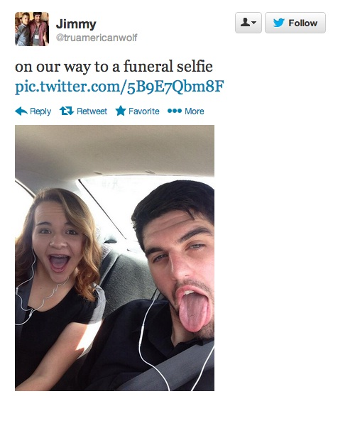 Speechless-Worst Funeral Selfies Ever