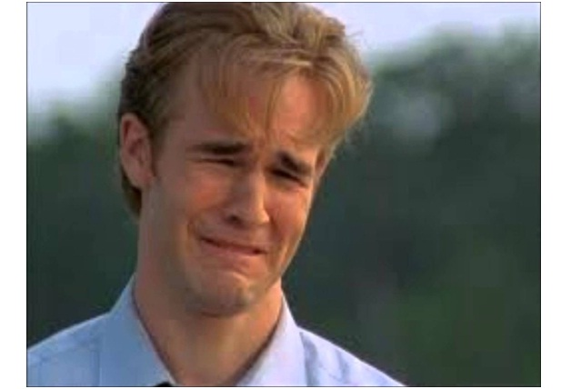 James Van Der Beek-Ugly Celeb Cry Faces