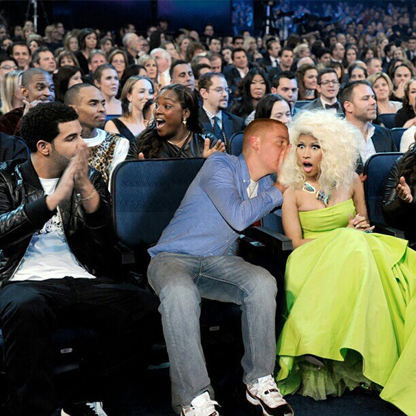 What is he whispering?-Man Photoshops Himself With Famous Celebrities