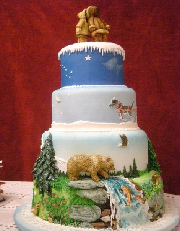 The North Pole-Most Geeky Cakes